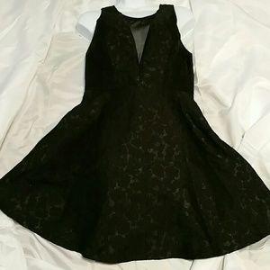 EUC Astr Black Sleeveless Mini Dress